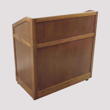 Cherry lectern front view