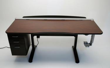 Ergo Office height adjustable desk with options