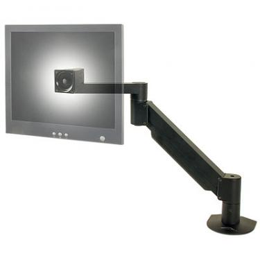 LCD arm mount shown in black