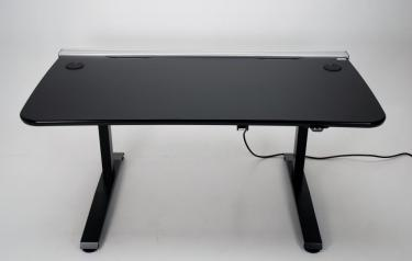Ergo Vanguard Workstation 60 height adjustable desk for multiple monitors