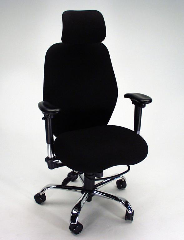 Comfortable Computer Chairs max comfort ergonomic executive computer chair | martin & ziegler