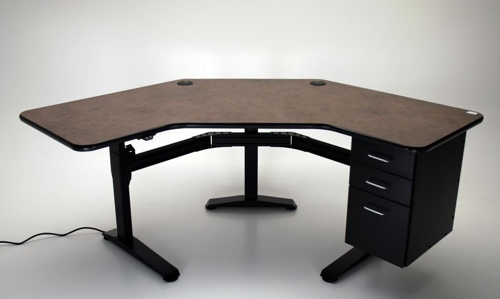 desktop desk a adjustable desks complete reclaimed with height wood category uplift solid
