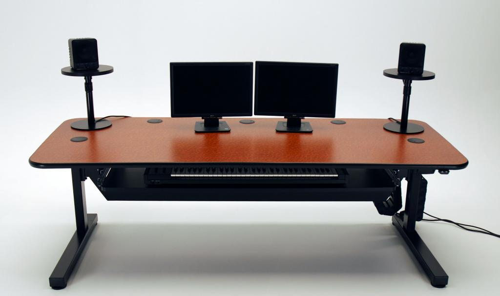 Ergo Music Height Adjustable Audio Production Desk ...