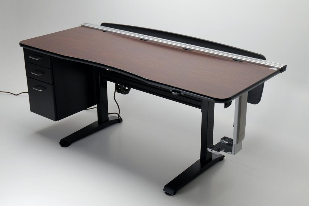 ergo vanguard office 72 adjustable height desk | martin & ziegler