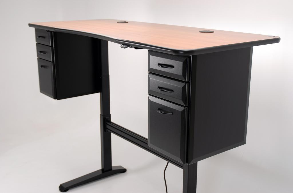 Etonnant Ergo Office Adjustable Height Desk Raised ...