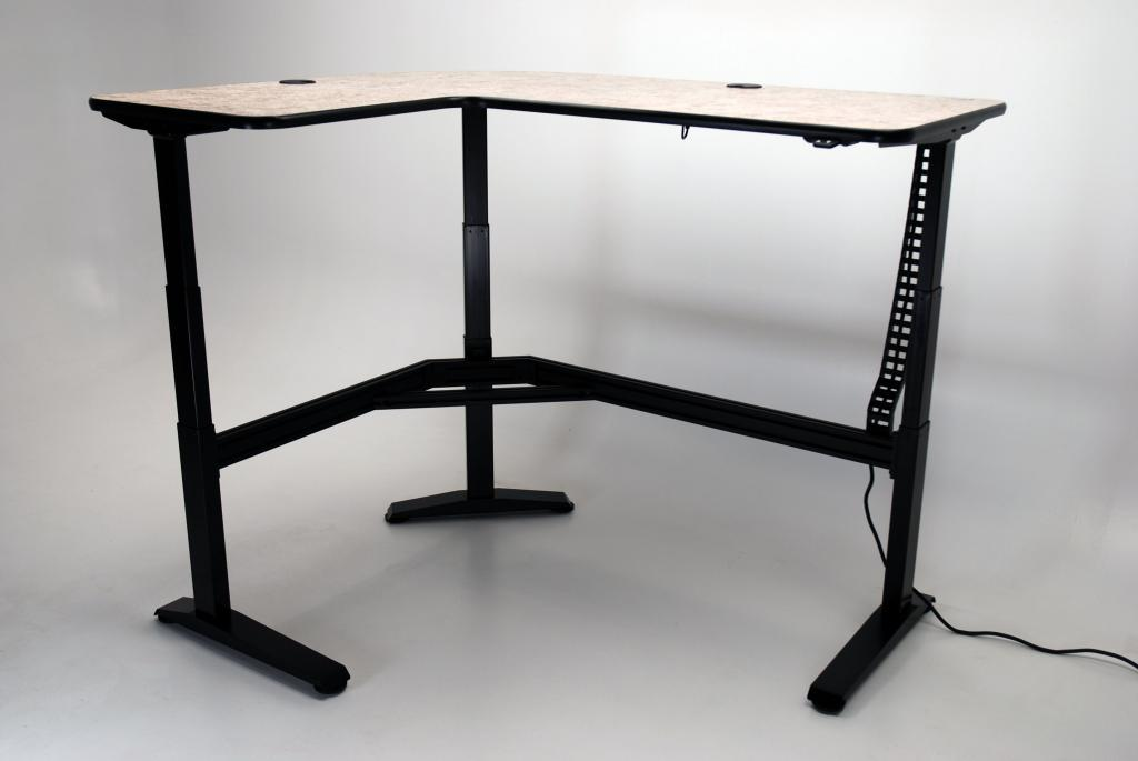 Ergo L Height Adjustable L Shaped Desk Martin Amp Ziegler