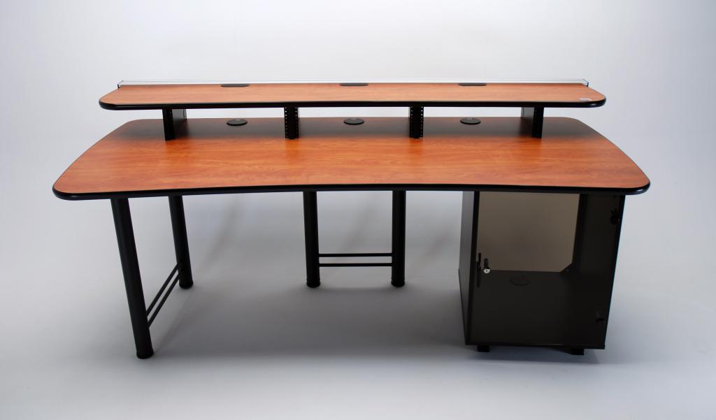 83 max rack desk with railmount and monitor track martin ziegler. Black Bedroom Furniture Sets. Home Design Ideas